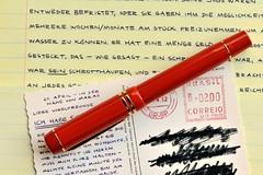 "Parker Duofold ""Big Red"" (SimDreams) Tags: red fountain pen centennial big parker duofold fllhalter"