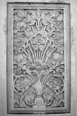 Floral Pattern work on Marble at Abbasi Mosque (Ali Chatai   Photo.blog) Tags: pakistan abstract flower art architecture photography artwork artist fort patterns arts mosque ali thar abbasi derawar chatai alichatai