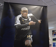 N'Golo Kante (lcfcian1) Tags: new june museum nikon display leicestershire walk leicester foxes fearless nikond3200 leicestercity lcfc newwalkmuseum leicestercityfc ngolokante fearlessfoxes newwalkmuseumfearlessfoxes