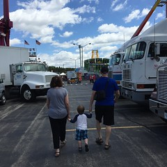 """Paul Walks with Grandma and Grandpa Miller at the Rose Festival • <a style=""""font-size:0.8em;"""" href=""""http://www.flickr.com/photos/109120354@N07/27821831516/"""" target=""""_blank"""">View on Flickr</a>"""