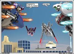 26 II DeXell Saga (messerneogeo) Tags: robot ii saga episode mecha mech dexell messerneogeo