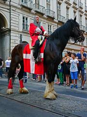 (Beppe_92) Tags: torino fire folk luck falo turin fortuna fuoco sangiovanni piazzacastello fiamme folclore far luckorbadluck