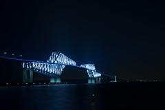 DSC04500 (Zengame) Tags: bridge japan architecture night zeiss tokyo sony illumination landmark illuminated cc jp creativecommons    distagon     wakasu   a6300  tokyogatebridge   distagontfe35mmf14za fe35mmf14 6300 distagonfe35mmf14