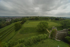 Carisbrooke Castle (y.mihov, Big Thanks for more than a million views) Tags: uk travel trees castle t landscape europe outdoor sightseeing tourist isleofwight trespass carisbrooke englanduk sonyalpha