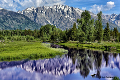 POWER ... (Aspenbreeze) Tags: mountains nature water rural river outdoors wyoming peaks tetons mountainscape grandtetonnationalpark strees snowypeaks tetonmountainrange reflectioninriver aspenbreeze bevzuerlein moonandbackphotograph