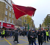 Waving Red Flag (Kombizz) Tags: uk people costa london justice massacre muslim islam faith religion battle tragedy shia muharram ashura hydepark karbala edgwareroad marblearch tyranny umayyad martyrdom caliph mourners flagholder yazid prophetmuhammad sufyan imamhussain ziaratashura ahlulbait ziyarat ziarat hazratabbas umayyads battleofkarbala ahlalbayt muslimummah kombizz 10thofmuharram sayyedalshohada shiitemuslims shimribnthiljawshan moonofthehashimites حسينبنعليبنأﺑﻲطالب‎ imamzainulabedin muawiayh umaribnsad alialasghar saiydushshohada banuumayya yaabaabdillahalhussain imaamhussain ziyaratashura muharram1436 yaghamarbanihashem qamarebanihashim wavingredflag 1130042