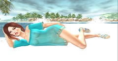 I could be your sunshine girl (Bunny (Cuneen68)) Tags: summer holiday beach sand truth avatar secondlife virtualreality ikon nicki izzie zaara sunshinegirl maitreya catwa larahurley frozenposes