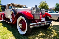 1930 Stutz Model MB by LeBaron (hz536n/George Thomas) Tags: summer copyright canon michigan canon5d flint carshow lebaron 2016 stutz ef1740mmf4lusm modelmb cs5 sloanmuseum sloanmuseumautofair