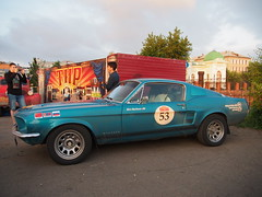 1967 - Ford Mustang (Jasonito) Tags: paris classic car russia rally olympus retro oldtimer motor  omsk challenge peking 6th omd the 2016    em5   parispeking beijingparis   panasonic14140mmf4058 omdem5
