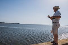 DSC_5615 (Pasquesius) Tags: sea island fisherman dock mare lagoon sicily laguna saline molo sicilia pescatore saltponds isola marsala mozia mothia stagnone motya riservanaturaledellostagnone