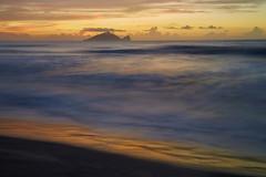 AI1A9646 (arcaswiss) Tags: sunlight reflection beach water sunrise island golden sand cloudy wave turtleisland