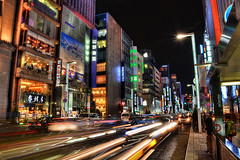 """Taxi!"" in Japan (DILLEmma Photography) Tags: street people detail cars beautiful japan speed photoshop lights tokyo high nice fantastic nikon asia exposure pretty crossing traffic dynamic zoom walk taxi sony awesome fast full advertisement professional midnight scream processing pedestrians billboards romantic leds tall speedy quick technique yell f828 hdr timeless crowded shout cs5 d7100"