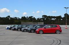 DSC_0029 (CHRISWASHERE.DE) Tags: red white black vw germany golf volkswagen grey wheels meeting gti rims darmstadt oem mk6 golf6 chriswasherede