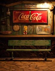 Coca Cola (ladyjaysfc) Tags: bench hawaii availablelight cocacola colddrinks aulani ladyjaysfc jamierodriguezphotography aulanihotel