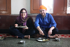 Langar at the Golden Temple (trent_maynard) Tags: india sikh gurdwara punjab amritsar goldentemple jelena harmandirsahib langar