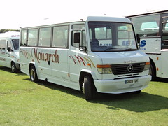 Monarch Mini Coaches of Middlesbrough SN03TLV (yorkcoach) Tags: york mercedes races middlesbrough racecourse raceday monarchminicoaches sn03tlv