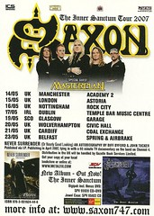 May 2007 Saxon/ Masterplan UK Tour (NYCDreamin) Tags: masterplan saxon uktour may2007
