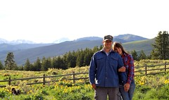 This Man and I (blue mountain thyme) Tags: love husbandandwife lovers countryliving methowvalley