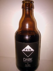 Olympic Brewery  FIX Dark (The Puzzler) Tags: black beer glass bottle label cerveza bier cerveja birra bire pivo olut l starkl  olympicbrewery fixdark