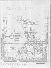 Special and Country Lands, Parish oF Frankston, County of Mornington map 1861 (Frankston City Libraries) Tags: baxter frankston