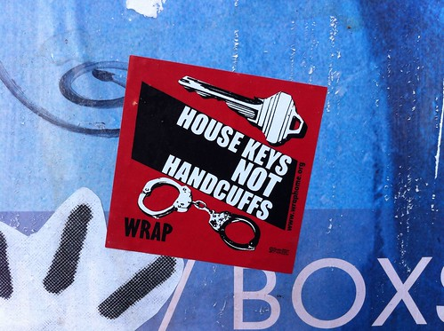House keys not handcuffs