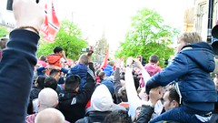Manchester United Title Winning Victory Parade Reception (Tanvir's Pics 2010) Tags: square manchester town hall united albert victory parade reception title winning mufc 2013
