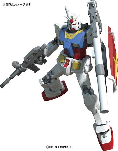BANDAI - MG 1/100 RX-78-2 鋼彈Ver.3.0