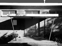 Warragul Guide Hall (phunnyfotos) Tags: door shadow bw canon mono australia monotone victoria porch vic verandah guides entry gippsland girlguides warragul guidehall phunnyfotos warragulguidehall