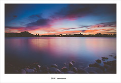 (ikuin) Tags: sunset nikon nightshot kaohsiung  d90   t124 nikond90 2013