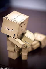 Danbo     (Mansour.F) Tags: portrait art home smile night canon wonderful fun photography is photo nice interesting funny flickr play near awesome saudi arabia inside riyadh saudiarabia canon1740mmf4lusm ksa danbo   happey canon5dmarkii canonef100mmf28lisusmmacro danbofamily