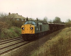 40129 Stoney Bridge Skelton Junction ICI Hoppers 29th March 1983 (Skelton80s) Tags: bridge march junction 1983 29th stoney ici hoppers skelton 40129