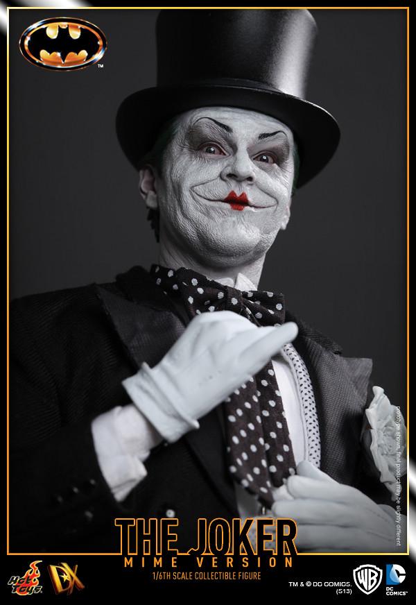 Hot Toys – Batman: 1/6th scale The Joker(Mime Version)– 1989 蝙蝠俠:1/6 比例 小丑 默劇版