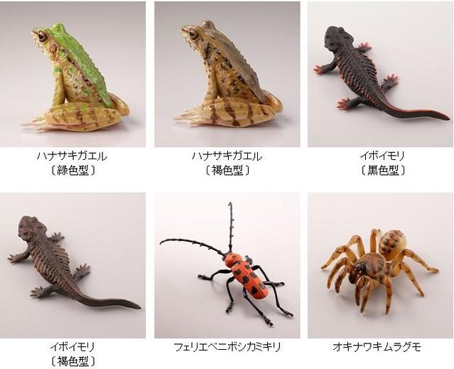 海洋堂「膠囊Q博物館」系列5月新作:日本動物系列第2彈