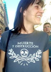 067 MARCHAS 12#MAYO 3013 (Fotos de Camisetas de SANTI OCHOA) Tags: politica calavera