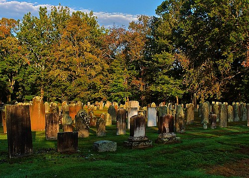 An Autumn Morning (Hubbard Green Cemetery)