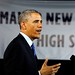 President Barak Obama speaking at Manor New Technology High School near Austin,Texas on 05/09/2013