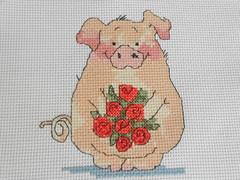 ✿◠‿◠✿linda quinta flower✿◠‿◠✿ (Crafter of Work) Tags: artesanal fabric decoração tecido costura pontocruz etamine panosdecopa decoraçãoparacozinha liareis crafterofwork linhasdmc