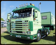 Scania 143m (mickyman13) Tags: eos automobile diesel transport vehicles peterborough cambridgeshire scania 3series dieselengine herbertson truckfest 60d alltypesoftransport 143m450 eos60d truckfestpeterborough truckfestpeterborough2013 scania143m4503series
