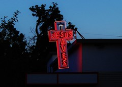 Union Gospel Mission (rickele) Tags: church cross ministry homeless neonsign hungry sacramento jesussaves uniongospelmission steelsign township9