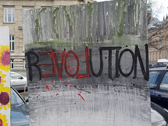Revolution (fipixx) Tags: life city streetart colour detail building art painting graffiti design exterior outdoor kunst kultur citylife culture scene graffity worlds graffitti leisure society farbe gebude fassade stadtleben gesellschaft szene strassenkunst gemlde objekt lebenswelten