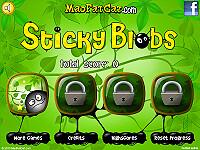 黏黏黑水滴(Sticky Blobs)