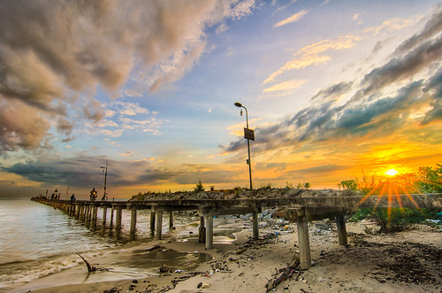 Sunset at Tanjung Sepat.