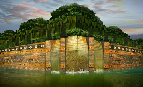 "Jardines colgantes de Babilonia • <a style=""font-size:0.8em;"" href=""http://www.flickr.com/photos/30735181@N00/8744287577/"" target=""_blank"">View on Flickr</a>"