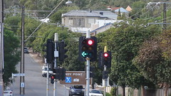 Belair Rd/Springbank Rd/Kays Rd intersection (RS 1990) Tags: red green sign yellow lights traffic may pedestrian led signals automatic adelaide intersection oneway exit 16th thursday southaustralia clapham aldridge noleftturn windypoint 2013 torrenspark belairrd springbankrd kaysrd