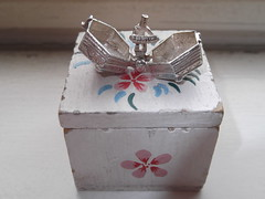 16th May 2013 (themostinept) Tags: silver box charm pendant concertina concertinacharm