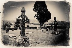 Ahenny High Crosses (Johnny Madden) Tags: graveyard religious cemetary crosses desaturated aged tipperary celticcrosses johnmadden ahenny highcrosses irelandeire johnnymadden johnnymaddentoronto johnmaddentoronto johnnymaddentipperary