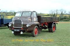 DSJ 429 (PeterJarman2001) Tags: truck bedford sl lorry 44 429 cavalcade dsj rushden dropside gowler