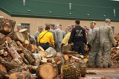 Camp Ripley celebrates Earth Day with hard work (Minnesota National Guard) Tags: minnesota unitedstates earthday campripley minnesotanationalguard