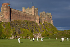 Empires and Umpires (*Rodbod*) Tags: summer castle sport landscape nikon cricket northumberland empire bamburgh umpire bamburghcastle northeastengland nikon35mmf18 nikond7100