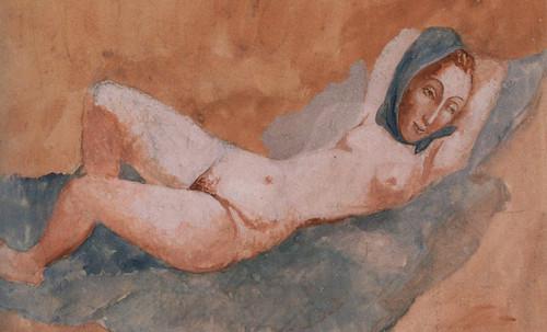 "Majas, homenajes de Francisco de Goya y Lucientes (1802), Eugéne Delacroix (1826), Amadeo Modigliani (1916), Pablo Picasso (1906), (1931), (1959), (1964). • <a style=""font-size:0.8em;"" href=""http://www.flickr.com/photos/30735181@N00/8747969052/"" target=""_blank"">View on Flickr</a>"